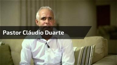 O Pastor Cláudio Duarte Sempre Com As Melhores Palestras!