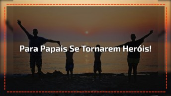 Palestra Sobre Família, Para Todos Os Papais Se Tornarem Heróis Da Sua Casa!