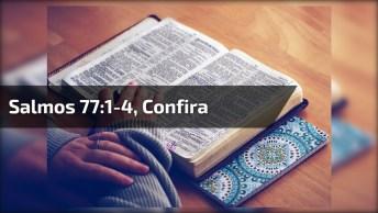 Salmos 77: 1-4, Para Compartilhar Com Seus Amigos Do Whatsapp!