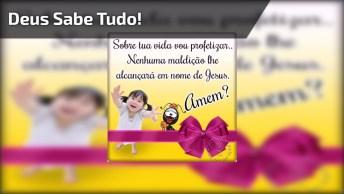 Vídeo Com Linda Mensagem E Música Para Tocar Seu Coração Do Amor De Deus!