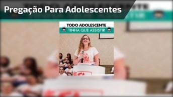Vídeo Com Linda Mensagem Evangélica Para Adolescentes, Compartilhe!