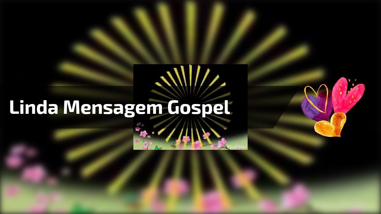 Vídeo com linda mensagem gospel. Deus quer falar com você!!!