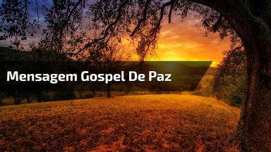 Vídeo Com Linda Mensagem Gospel Para Compartilhar Com Seus Amigos E Amigas!