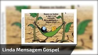 Vídeo Com Linda Mensagem Gospel Para Enviar A Todos Amigos E Amigas!