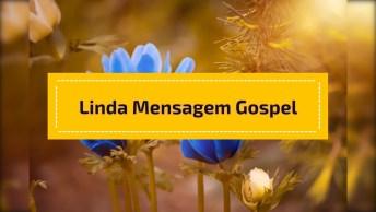 Vídeo Com Linda Mensagem Gospel Para Você Enviar Para As Amigas!