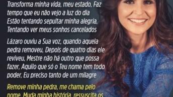 Vídeo Com Linda Música De Aline Barros 'Ressuscita-Me', Vale A Pena Conferir