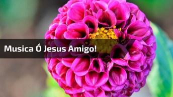 Vídeo Com Música 'Ó Jesus Amigo! Na Versão De Elizabete Lacerda!