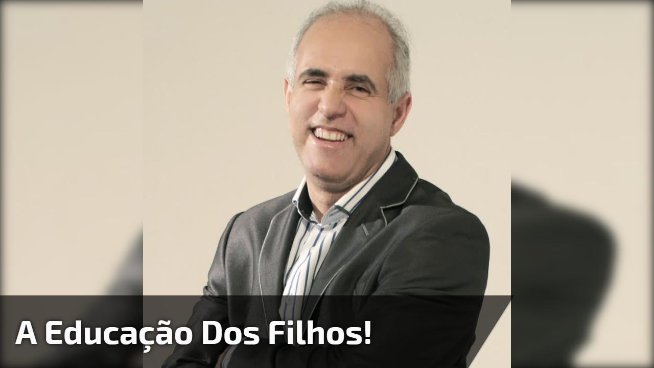 Video com pastor Claudio Duarte falando sobre a educação