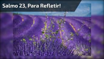 Vídeo Com Salmo 23, Para E Escute Atentamente, Vale A Pena!