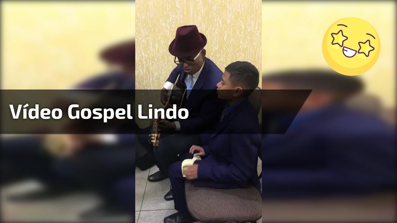 Vídeo gospel lindo