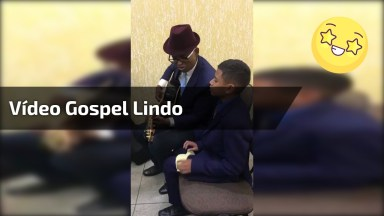 Vídeo Gospel Lindo, Veja Este Garoto Louvando A Deus Em Forma De Canção!