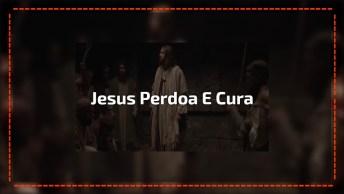Vídeo Jesus Perdoa Pecados E Cura Homem Ferido Com Paralisia. . .