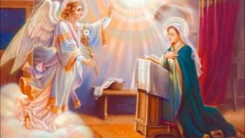 A Hora Do Ângelus - Linda Oração Também Conhecida Como A Hora Das Aves Marias!