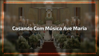 Ave Maria Sendo Cantada Em Casamento, Que Voz Maravilhosa!