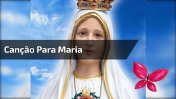 Canção Para Mãe Maria, A Nossa Intercessora La Do Céu, Compartilhe!