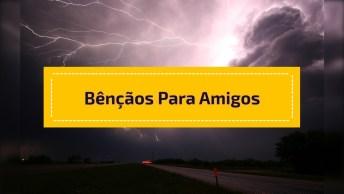 Chuvas De Bençãos Para Amigos Do Facebook, Compartilhe!