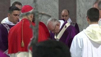 Como É A Cerimonia Da Quarta-Feira De Cinza No Vaticano? Veja No Vídeo!