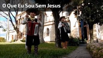 Criança Cantando O Que É Que Eu Sou Sem Jesus, Nada, Nada, Nada!