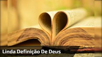 Definição De Deus Pelo Poeta Amaro, Vale A Pena Ouvir Com Atenção!