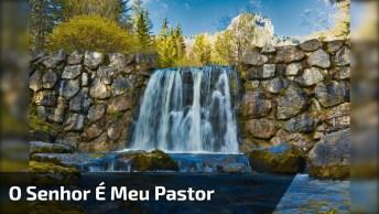 Frase Bíblica Para Compartilhar, 'O Senhor É Meu Pastor'!
