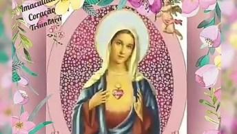 Linda Mensagem De Oração Ao Som De Maria De Nazaré De Padre Zézinho!