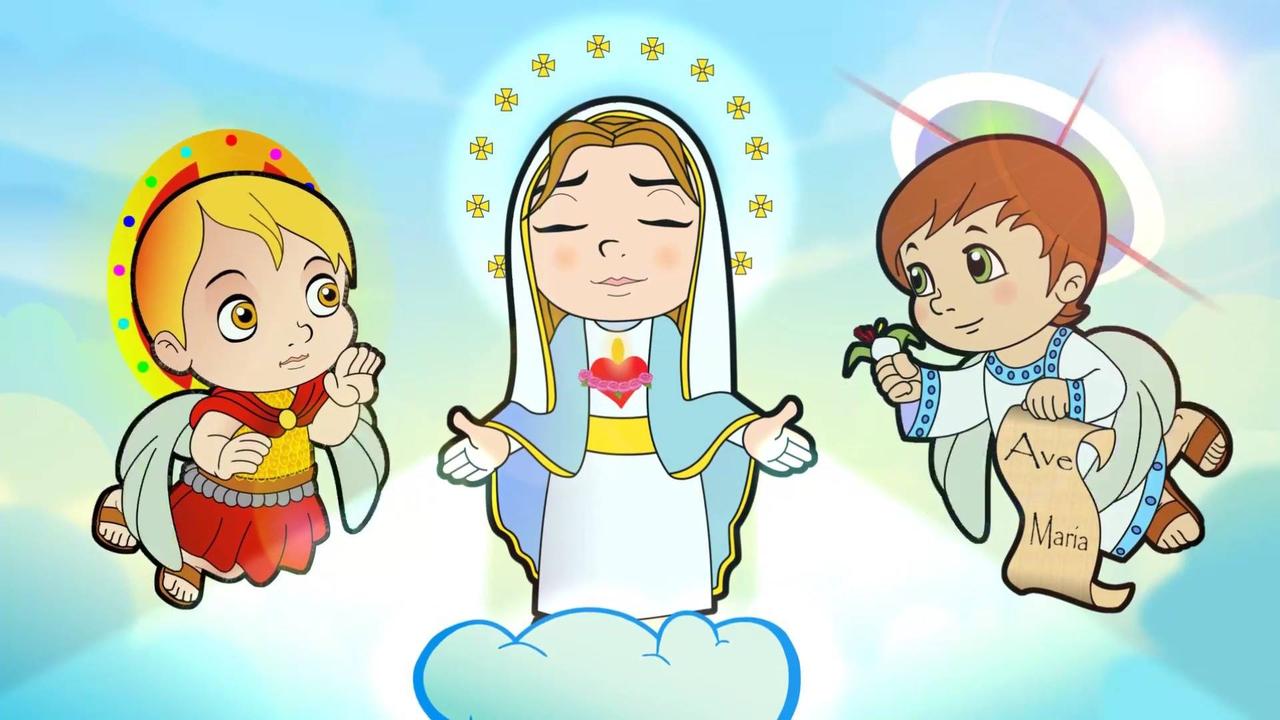 Mãezinha do céu - Com desenhos e vozes de crianças