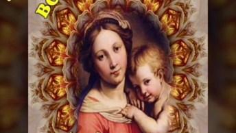 Mensagem De Boa Noite Com Nossa Mãe Santíssima, Que Seu Lar Seja Abençoado!