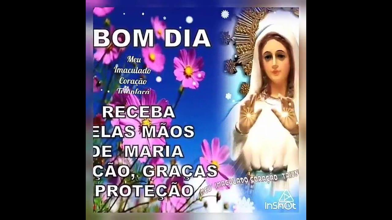 Bom Dia Religioso: Mensagem De Bom Dia Com A Proteção De Maria Mãe
