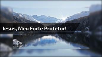 Mensagem De Jesus Para Facebook - Vem Jesus! Vem Meu Forte Protetor!
