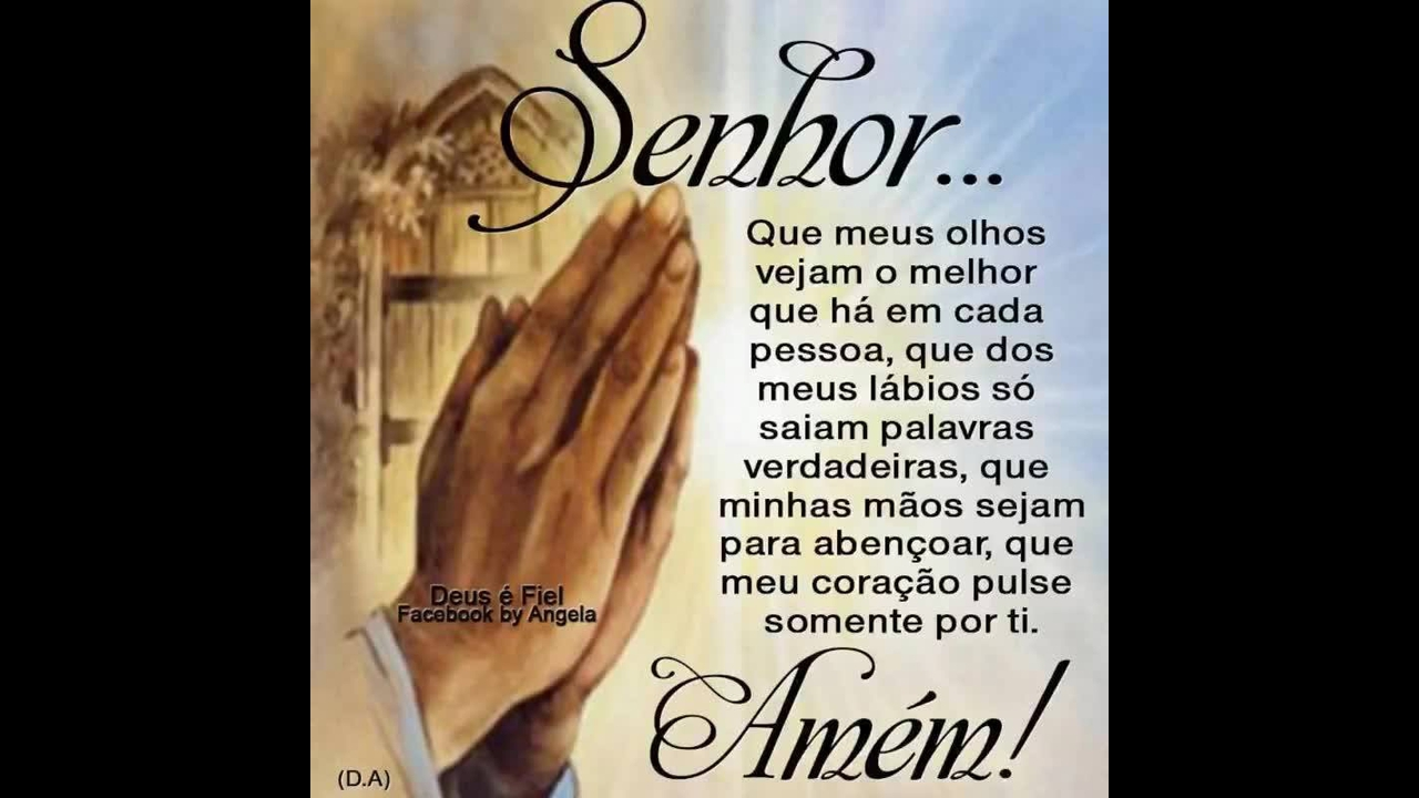 Mensagem de oração! Deus proteja cada pessoa que receber esta mensagem!!!