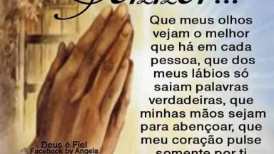 Mensagem De Oração! Deus Proteja Cada Pessoa Que Receber Esta Mensagem!