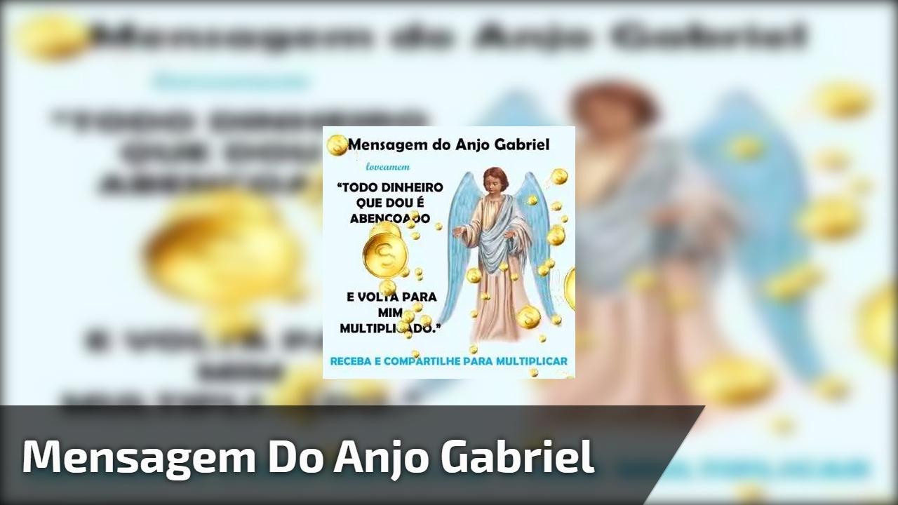 Mensagem do Anjo Gabriel