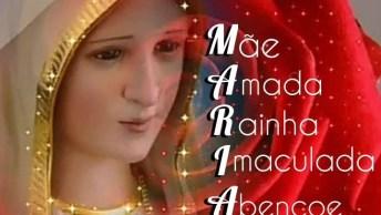 Mensagem Linda De Maria Mãe De Deus Para Enviar Para Todos Amigos E Amigas!