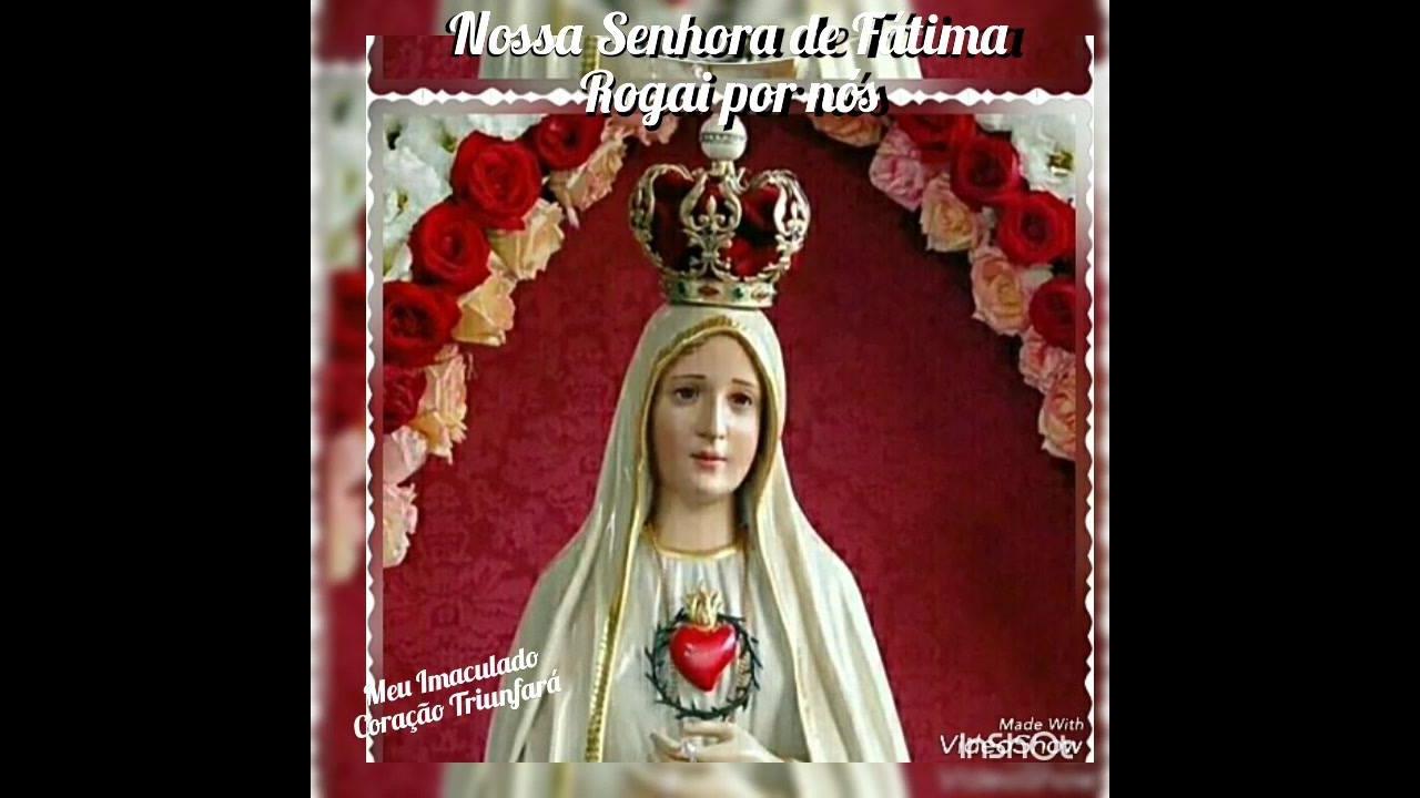 Nossa Senhora de Fátima, rogai por todos nós