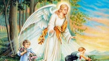 Oração Ao Anjo Da Guarda, Para Compartilhar Com Amigos Do Facebook!