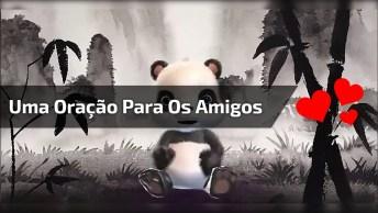Oração Para Grupos Do Whatsapp, Com Ursinho Panda Super Fofo!