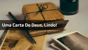 Uma Carta De Deus Para Você, Repasse Ela Para Quem É Importante Para Ti!