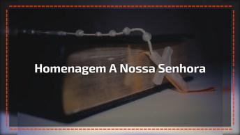 Uma Linda Homenagem A Nossa Senhora De Fátima Direto Do Santuário De Fátima De Palmas