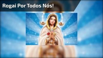 Vídeo Com Lindas Imagens De Nossa Senhora Rosa Mística, Rogai Por Todos Nós!