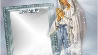Vídeo Com Oração Ave Maria, Compartilhe Com Todos Devotos!