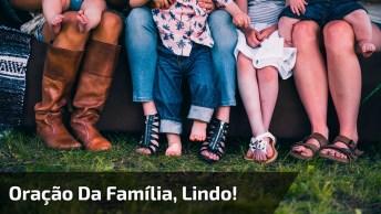Vídeo Com Oração Da Família Por Raquel Mello, Muito Lindo!