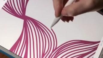 Arte Com Ajuda Da Tecnologia, Veja Que Resultado Incrível!