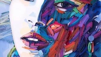 Arte De Colagem De Papel, Olha Só Que Impressionante E Maravilhoso!
