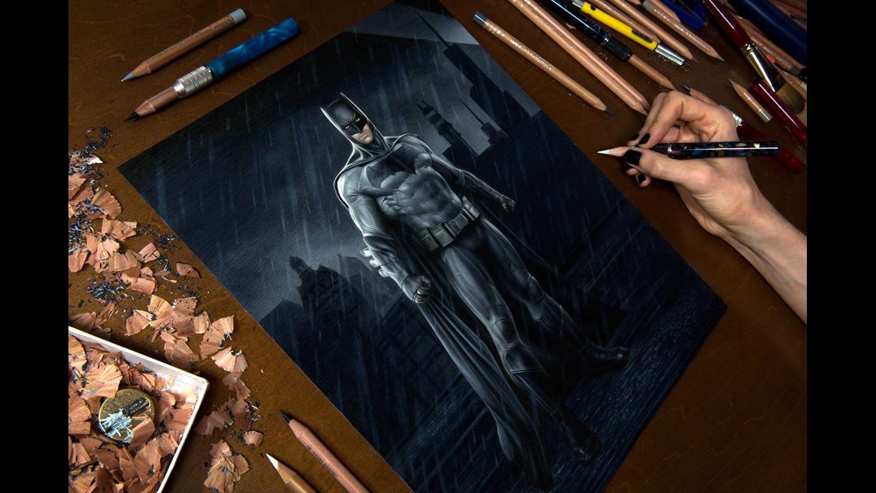 Arte de desenhar com lápis de cor de forma simplesmente perfeito