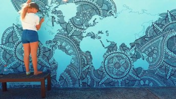 Arte De Desenhar Mandalas, Olha Só Que Perfeição Este Desenho!