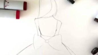 Arte De Desenhar, Olha Só Que Desenho Lindo, Cheio De Detalhes!