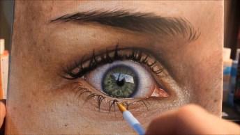 Arte De Desenhar Perfeitamente, É Maravilhoso De Se Ver, Confira!