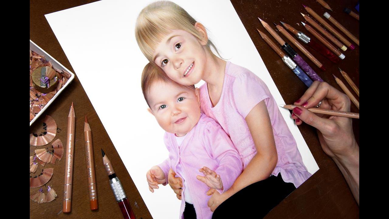 Arte de desenhar rostos humanos