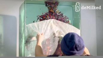 Arte De Fazer Arte Com Colagem De Gravuras Dentro De Vidros, Impressionante!