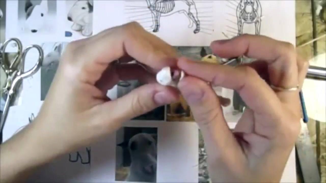 Arte de fazer miniaturas de cães, olha só que trabalho fantastico!!!